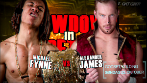 Fynne vs. James for the title