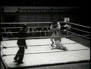 Wrestling første gang i Danmark - Headscissors