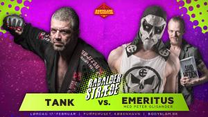 Tank vs. Emeritus - Wrestling i København
