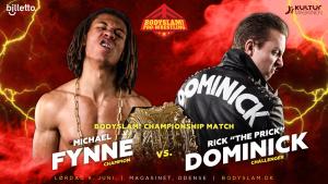 Wrestling i Odense, juni 2018