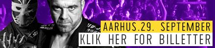 Wrestling i Aarhus september 2018
