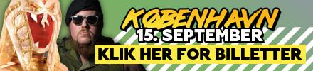 Wrestling i København september 2018