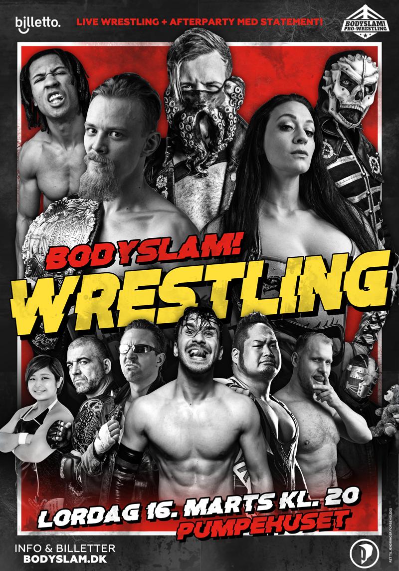 Pumpehuset wrestling 16 marts 2019