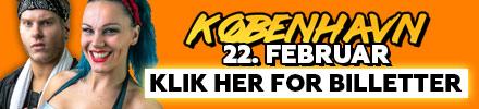 Wrestling i København 22. februar 2020
